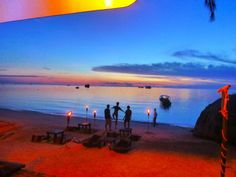 Sunset on Koh Phangan #thailand #travel #asia