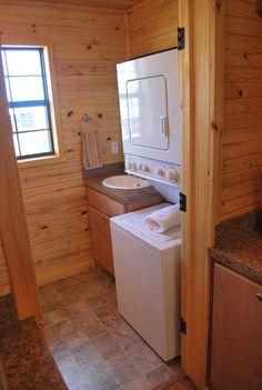 12 x 30 Hunters Cabin - Interior