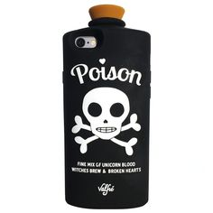 Poison 3D iPhone 6/6S Case (Black) by Valfre | Valfre.com