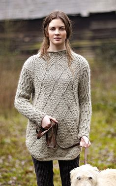 NEW ROWAN PATTERN BOOK A/W 2013: Hartington by Marie Wallin, in Autumn Knits booklet, available July 15, 2013. Made with Rowan Cocoon.