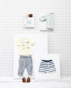 ZARA baby lookbook  | styling April and May | photography James Stokes