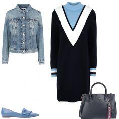 mi vesto bene con poco poco di +  outfit donna Trendy per ufficio  9be8361eaca