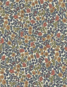 La plus belle collection de tissus Liberty.: 0184 Emilia's Flowers VINTAGE