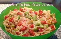 The Perfect Pasta Salad.