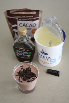 Guest Post: Raw chocolate yogurt mousse - The Veggie Mama Chocolate Yogurt, Chocolate Fudge, Clean Eating, Healthy Eating, Mousse, Nom Nom, Sweet Tooth, Veggies, Snacks