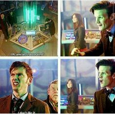The facial expressions in the bottom gifs are beautiful
