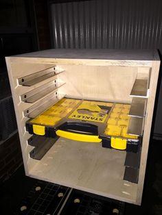 Garage Organization Design Tool and Pics of Best Garage Storage System Australia. Garage Organization Design Tool and Pics of Best Garage Storage System Australia. Van Storage, Garage Storage Systems, Diy Garage Storage, Garage Shelf, Shed Storage, Door Storage, Storage Boxes, Lumber Storage, Garage Shelving