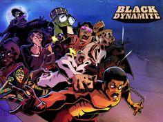 Black Dynamite Cartoon