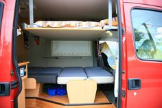 sprinter drop down bed