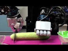 CIROS A Home Service Robot, Cooking a Salad - YouTube