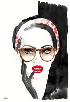Sara Ligari Fashion Illustrations