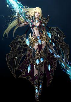Hyun Kyung, Fantasy Art, Concept Art, Princess Zelda, Sun, Artwork, Anime, Female Warriors, Fictional Characters