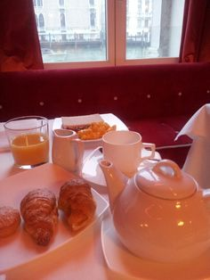 Breakfast at the Luxury Hotel Centurion Palace