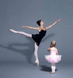 ballerinas big and tiny...