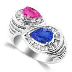 Royal Rebirth Sapphire Ring