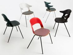 At the 2016 London Design Festival, Fritz Hansen pre-launches the stackable Pair Chair, marking their first collaboration with Benjamin Hubert, founder of Layer Design Furniture, Chair Design, Cool Furniture, Fritz Hansen, Design Typography, London Design Festival, Stackable Chairs, Design Moderne, Layers Design