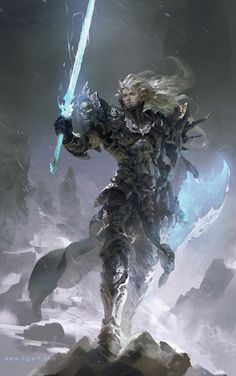 Concept Art by Guangjian Huang  Closest thing to a Rifts Cyberknight I've ever seen.