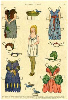antique paper dolls - Bobe - Picasa Webalbum