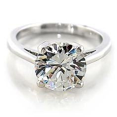 STUNNING 6.4 CT. ENGAGEMENT/Bridal/Cocktail RING W/RHODIUM PLATED BAND Sz 5-10//https://www.facebook.com/RingBlingLady
