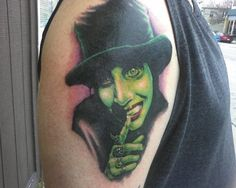 My awesome Marilyn Manson Tat!