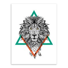 Modern Vintage Retro Black White Deer Lion Head Animals Art Print Poster Hippie Wall Picture Canvas Painting No Frame Home Decor-in Painting & Calligraphy from Home & Garden on Aliexpress.com | Alibaba Group