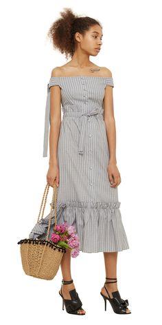 Комплект топ + юбка с оборками