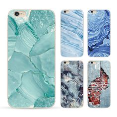 Marble Stone image Painted Phone Case Coque For Apple Iphone 5 5S Back Cover Fashion Soft TPU Accessories Capa