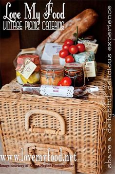 LOVE MY FOOD - VINTAGE PICNIC CATERING