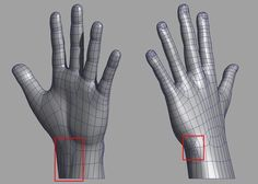 Hands and feet tutorial by Jahirul Amin
