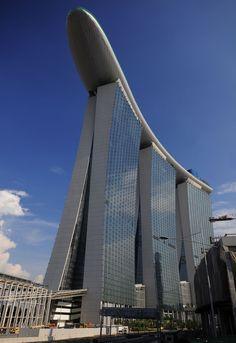 Marina Bay Sands Resort - Singapore  #arquitetura #architecture #design #building #estrutura #structure