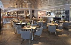 The Anthologist boasts an airy and open space where revellers can eat, drink and dance all in one night