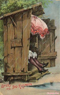 Старые немецкие открытки (1910-1950 гг.)
