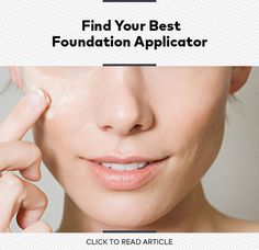 Which Foundation Applicator Is Right for You?