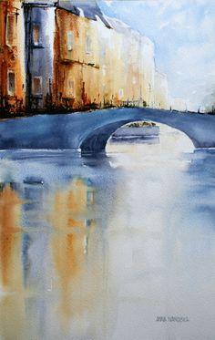 Anna Ivanovska Nz Art, Watercolors, Anna, Artists, Artwork, Painting, Design, Watercolor Art, Water Colors