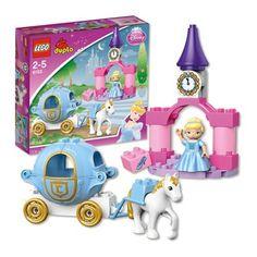 LEGO DUPLO Disney Princess Cinderella's Carriage  Price : $31.20 #lego #princess #christmas http://www.thinkfasttoys.com/LEGO-Disney-Princess-Cinderellas-Carriage/dp/B005VPRCP0