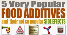 5 Food Additives to Avoid and Their Side Effects