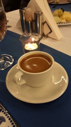 Türk kahvesi - Cihangir Otel