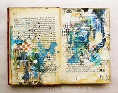 ⌼ Artistic Assemblages ⌼ Mixed Media & Collage Art - we just live | Flickr - Photo Sharing!