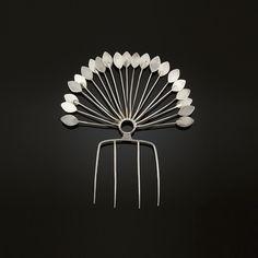 TONE VIGELAND hair comb c. 1960