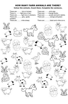 Animal Worksheets, Sight Word Worksheets, Sight Word Activities, Preschool Worksheets, Sight Word Sentences, Dolch Sight Words, Pre Primer Sight Words, Animal Habitats, Word Problems