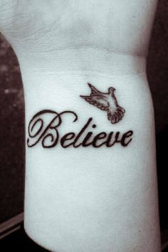 7 dove tattoos on wrist for girl