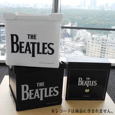 Past Mastersジャケットデザインのコンテナ(アナログレコードサイズ)予約中! - ザ・ビートルズ The Beatles, Container, Canisters