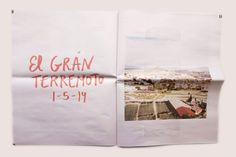 Newspaper of the Month: Ultramar #travel journal from graphic designer Manon…