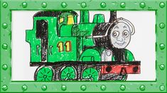 How to Draw Oliver ♦ Thomas and Friends ♦ Drawing and Colors Learning vi...