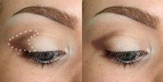 Eye Makeup Tips – How To Apply Eyeliner – Makeup Design Ideas Eyeshadow Basics, Blending Eyeshadow, Natural Eyeshadow, How To Apply Eyeshadow, Eyeshadow Looks, How To Apply Makeup, Eyeshadow Makeup, Eyeshadows, Glitter Makeup