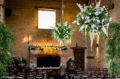 Cripps Barn Wedding, Barn Wedding Venue, Barn Wedding Flowers, Hanging Garland, Stone Barns, Florists, Garlands, Bristol, Wedding Styles