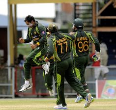 West Indies v Pakistan 1st T20I: Mohammad Hafeez bowled Johnson Charles with his 3rd ball for 1.