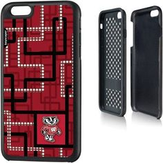 Wisconsin Badgers Apple iPhone 6 Plus (5.5 inch) Rugged Case