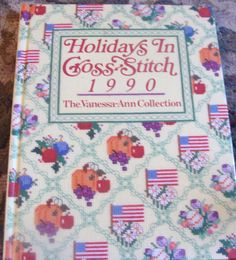 1990 CROSS STITCH BOOK by neilsellers on Etsy, $16.00