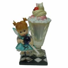 My Little Kitchen Fairies - Lollipop Soda Fairie 4015671 - http://cutefigurines.net/my-little-kitchen-fairies/my-little-kitchen-fairies-lollipop-soda-fairie-4015671/